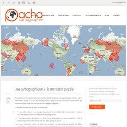 Jeu cartographique 2: le mercator puzzle - Pacha cartographie