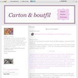 Cartonnage - So Lady - Concours Revue… - Accessoires au… - Les inséparables - Vos cartonnages - Carton & Boutfil