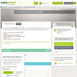 CARTONNAGES DU NORD, Emballages en papier et carton,sur EUROPAGES.