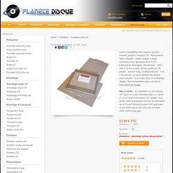 50 Cartons expédition 1-2 33T vinyle - Planète Disque