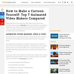 How to Make a Cartoon: Top 7 Animated Video Makers - Freemake