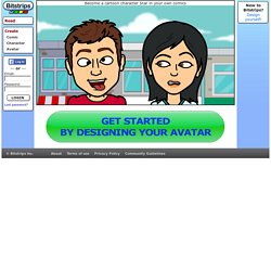 Make your own comic strips and cartoon characters