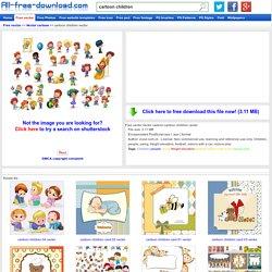 Cartoon children vector Vector cartoon