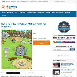 The 5 Best Free Cartoon Making Tools for Teachers
