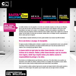 Cartoon Network Basta de bullying