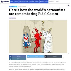 Here's how the world's cartoonists are remembering Fidel Castro