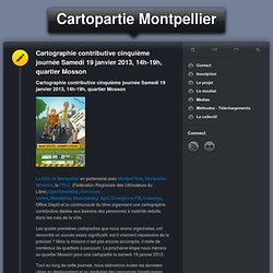Cartopartie Montpellier