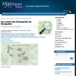 Les cartes des Cartoparties de Montpellier - Montpel'libre