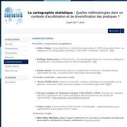 cartostats - Sciencesconf.org