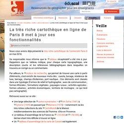 La très riche cartothèque en ligne de Paris 8 met à jour ses fonctionnalités