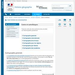 Cartes et cartothèques-Histoire-géographie-Éduscol