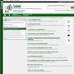 Cartothèques et sites de référence - Histoire-géographie - éduscol SIENE