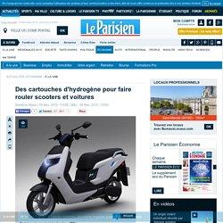 Des cartouches d'hydrogène pour faire rouler scooters et voitures