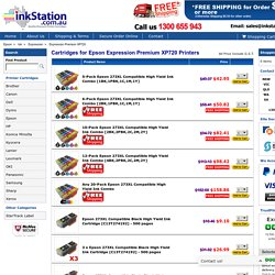 Cartridges for Epson Expression Premium XP720 Printers