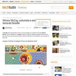 Winsor McCay, cartunista e animador, é tema de Doodle