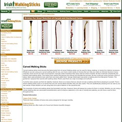 Carved Walking Sticks