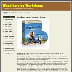 Wood Carving Workshops | Learn How To Carve Wood, Wooden Figures, Statues, Anything!