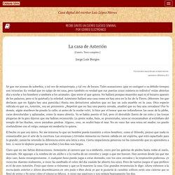 La casa de Asterión - Jorge Luis Borges