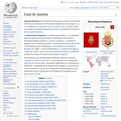 Casa de Austria