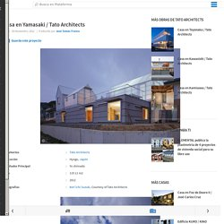 Casa en Yamasaki / Tato Architects