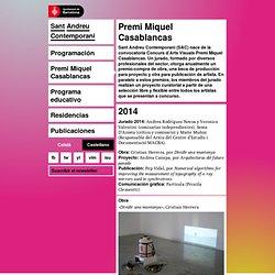 Premi Miquel Casablancas - Sant Andreu Contemporani