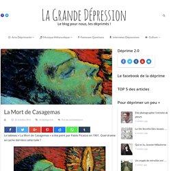 La Mort de Casagemas - La Grande Dépression