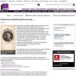 Casanova, le libertin porté aux nues - Littérature
