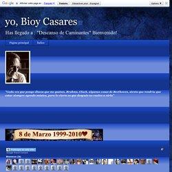 yo, Bioy Casares: Borges, Bioy Casares.Los mejores cuentos policiales