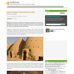 » Casas de Adobe Tradicionales en Siria - Blog de Bioconstrucción, Arquitectura e Ingeniería - EUDOMUS