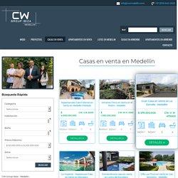 Casas en venta en Medellín - CW Group