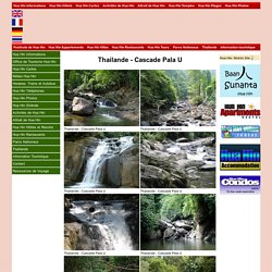 Cascade Pala U photo images. Thailande photo.
