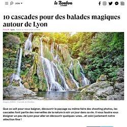 10 cascades pour des balades magiques autour de Lyon