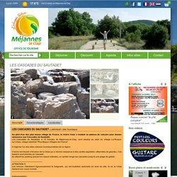 LES CASCADES DU SAUTADET - Office du tourisme Méjannes-le-Clap