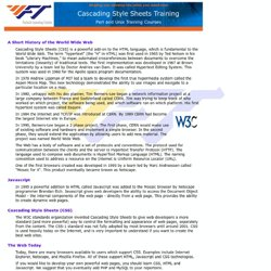 Cascading Style Sheets Training - Fastech Learning Center