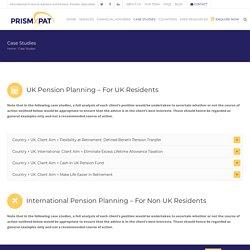 Expat Pension Advice