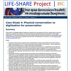 Case Study 4 :: LIFE-SHARE Project
