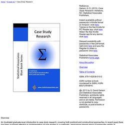 quantitative case study