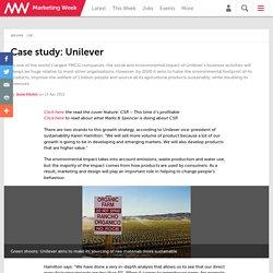 Case study: Unilever