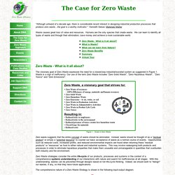 Case for Zero Waste