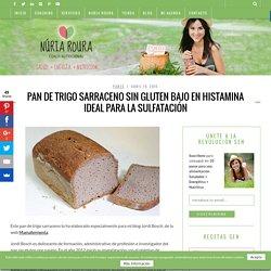 Pan casero de trigo sarraceno sin gluten