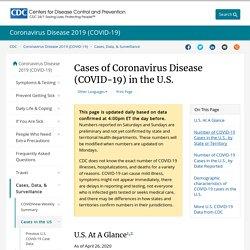 Cases in U.S.