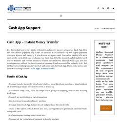Cash App - Cash App Customer Service