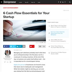 6 Cash Flow Essentials for Your Startup