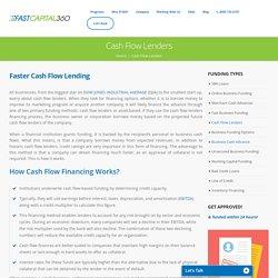 Cash Flow Lenders