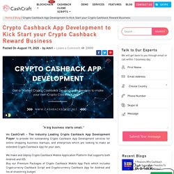 Crypto Cashback App Development