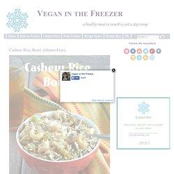 Cashew Rice Bowl Recipe {Gluten Free}