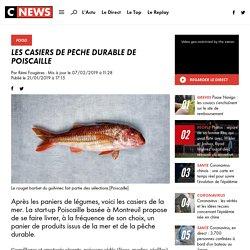 Les casiers de pêche durable de Poiscaille