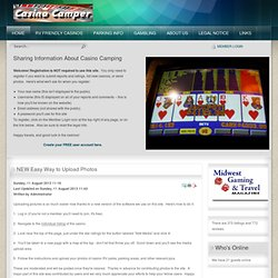 Casino Camper | Free Overnight Parking | Casino RV Parks