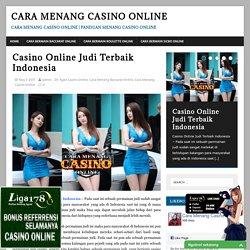 Casino Online Judi Terbaik Indonesia