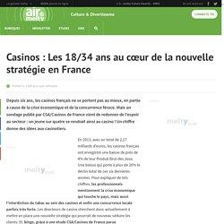 Casinos : Les 18/34 ans au cœur de la nouvelle stratégie en France
